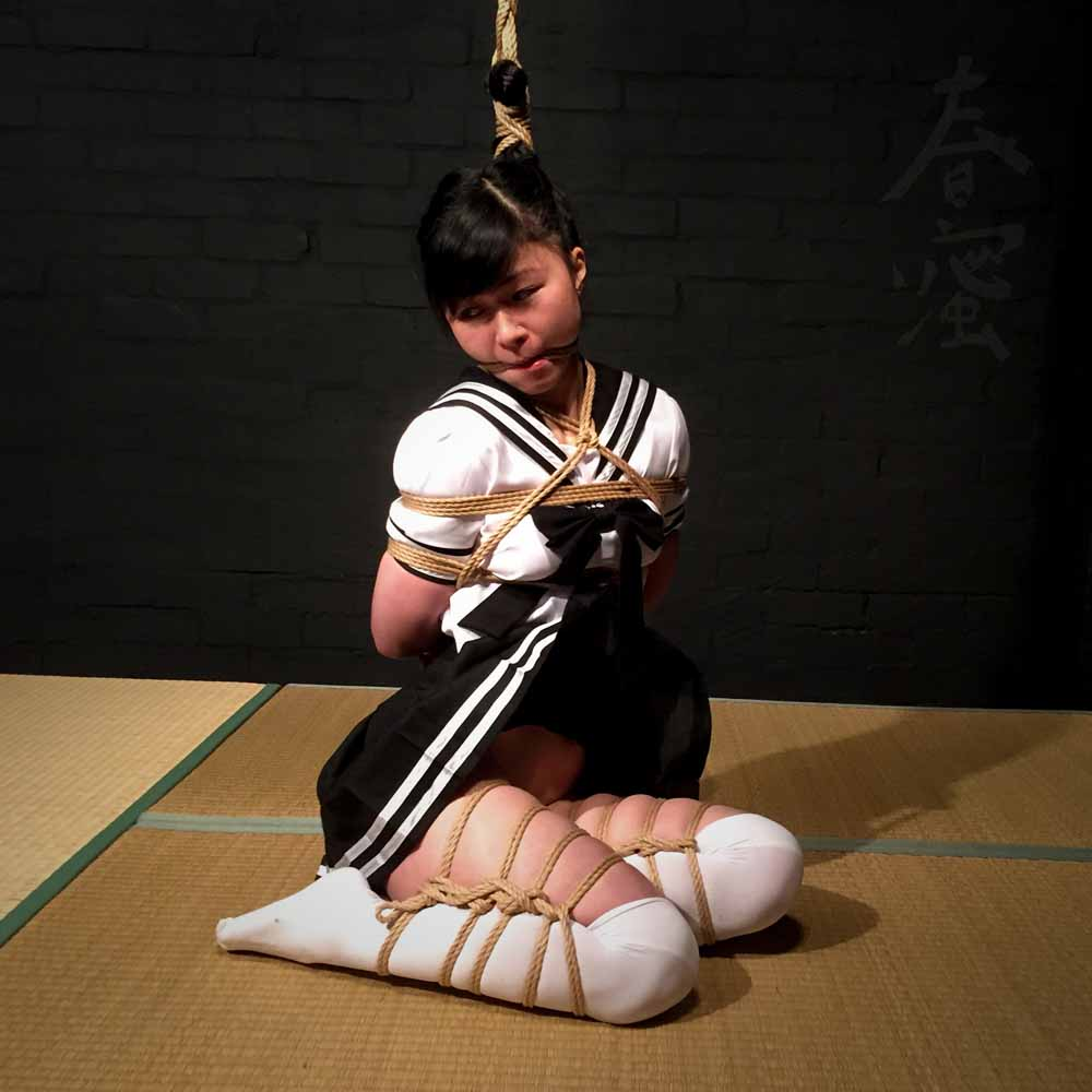 Japanese mom shibari squirt