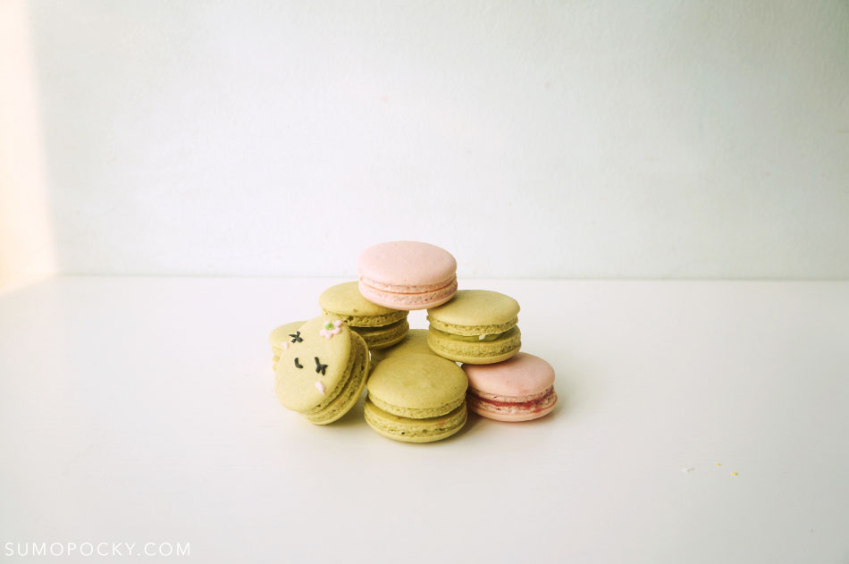 Matcha Green Tea Macarons Recipe