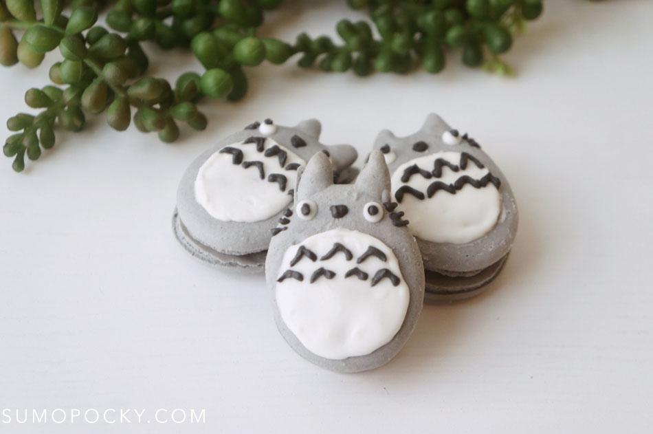 Totoro Macarons Recipe