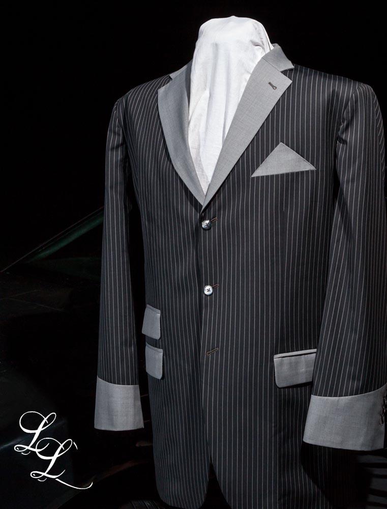 LeGrand Leseur Grey Stripe