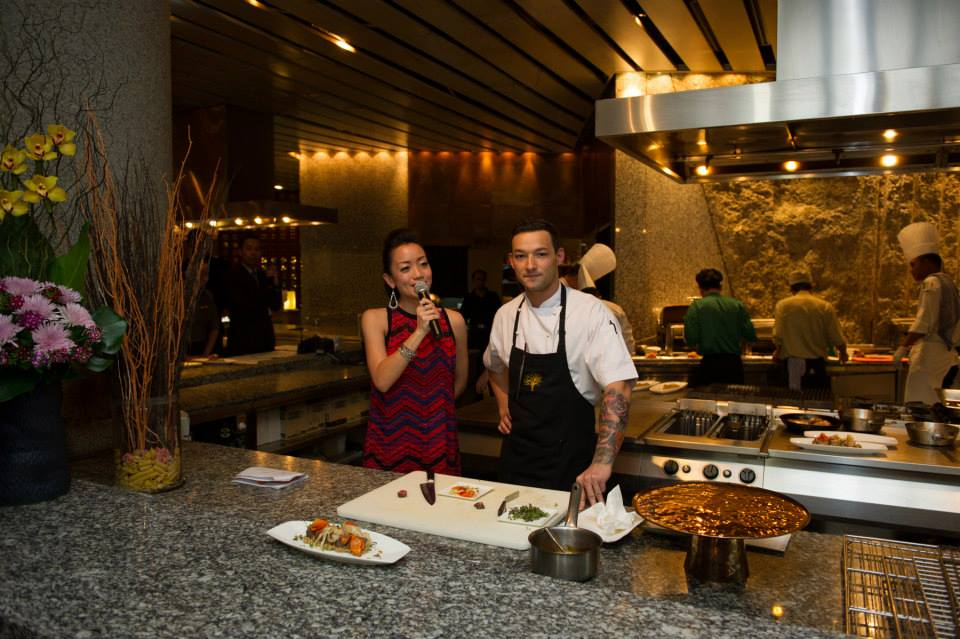 Hosting Star Hill's culinary Series with Chef Tim Ross-Watson